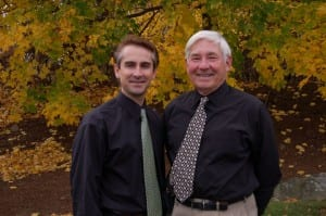 Dr. Randall Burba (left) and Dr. Stanley Burba (right)