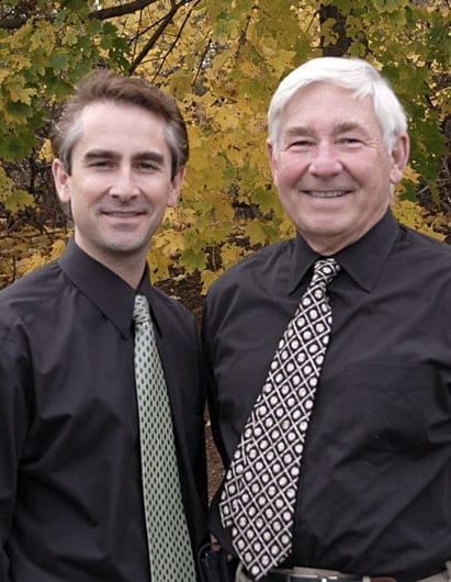 Boston cosmetic dentists Drs. Stanley and Randall Burba